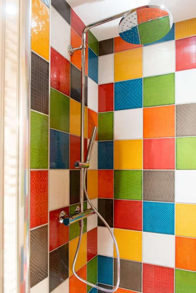 salle de douche couleur aracachon